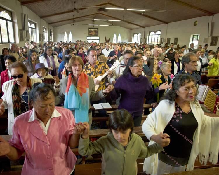 Célébration à l'église
