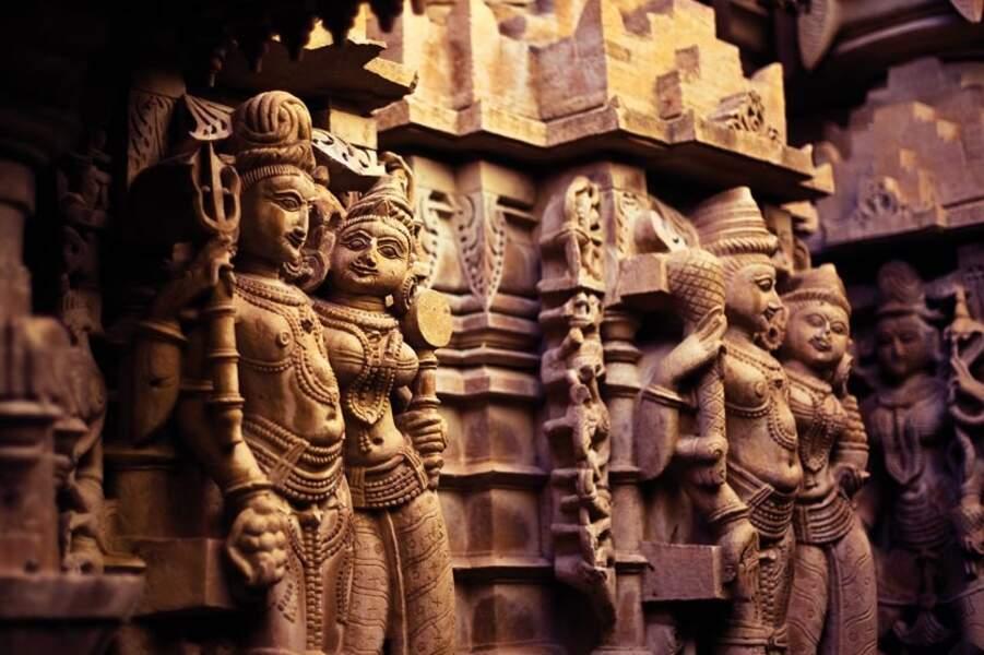 Temple jaïn de Chandrabrabhu, par Serge Bouvet