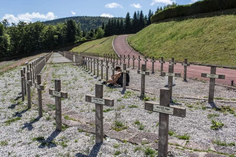 La nécropole nationale du camp de Struthof