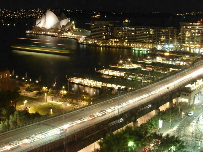 Photo prise à Sydney (Australie) par le GEOnaute : leballadeur