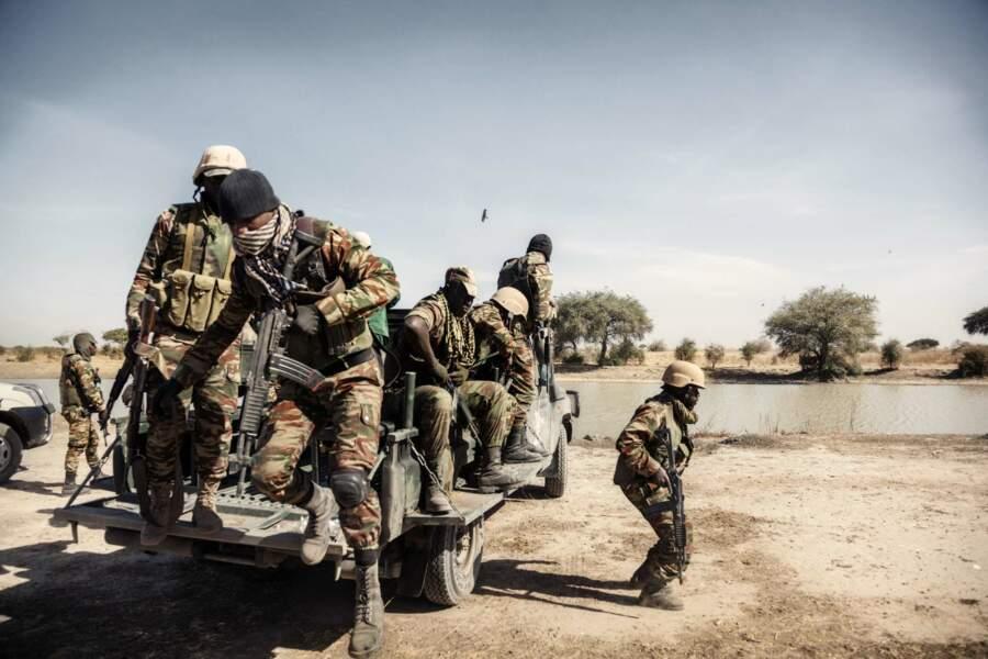 Soldats du B.I.R (Force Intervention rapide)