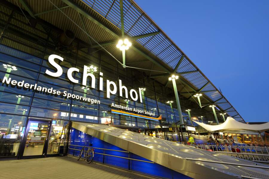 7 - Aéroport d'Amsterdam, Pays-Bas