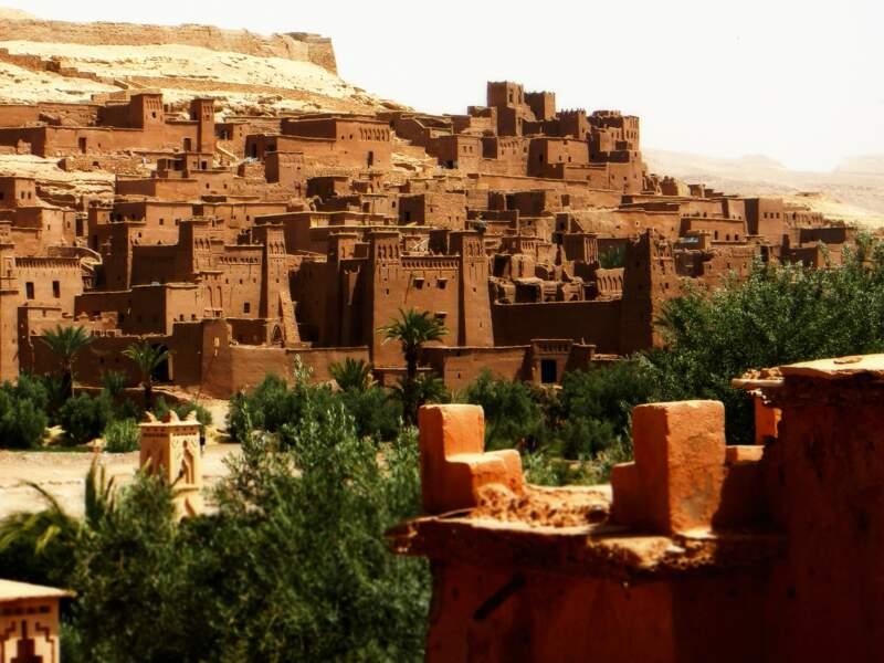 Situé dans la province de Ouarzazate, Haït-Ben-Addou est un exemple d'architecture typique du sud marocain