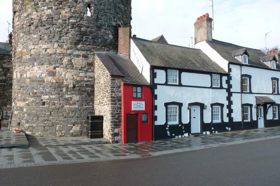 Dans le village de Conwy, la plus petite maison de Grande-Bretagne datant du XIVe siècle
