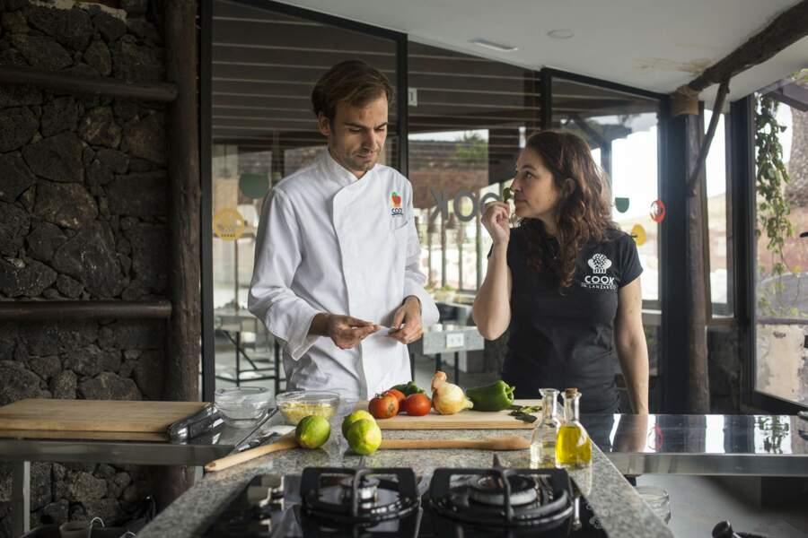 A Lanzarote, Antonio and Veronique défendent une cuisine insulaire