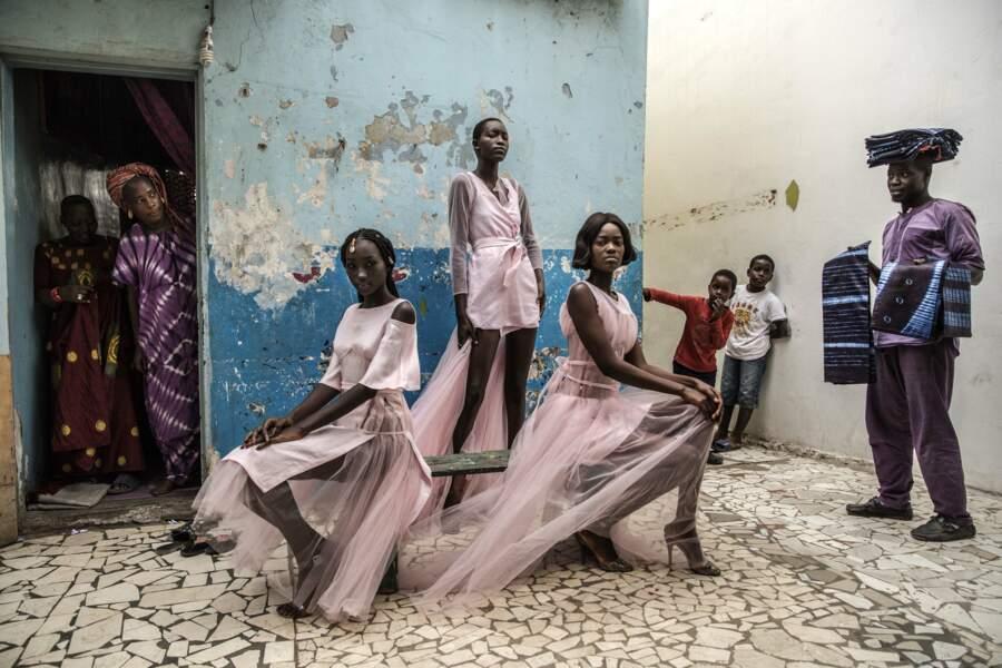 """Fashion Dakar – Premier prix catégorie """"portraits"""" (image unique)"""