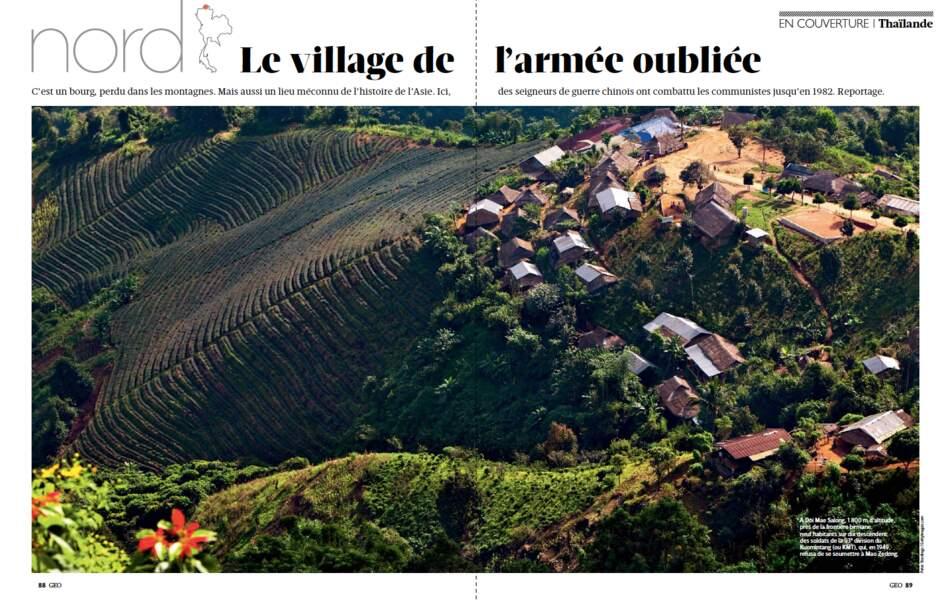 Grand dossier Thaïlande / Nord : le village de l'armée oubliée