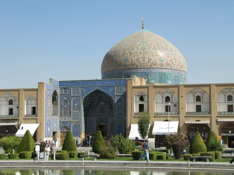 Mosquée du Sheikh Lotfollah, à Ispahan