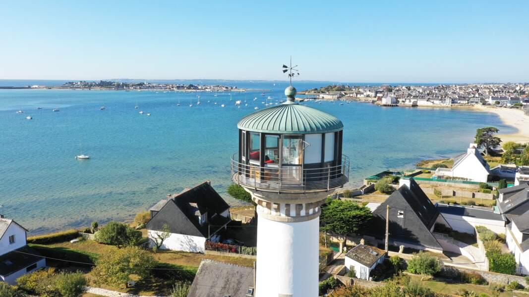 Une chambre dans un phare Breton