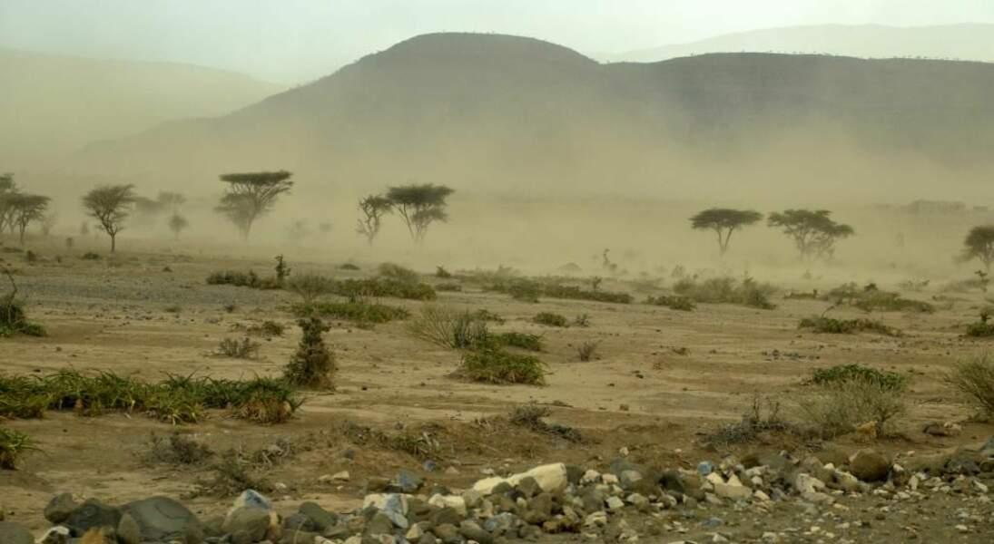 Photo prise dans le désert de Danakil (Ethiopie) par le GEOnaute : zaziboulou