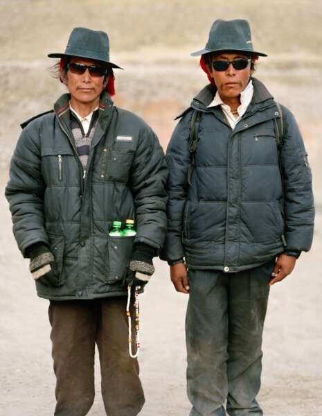 Gylepo Tenzin et Tharchin Samten