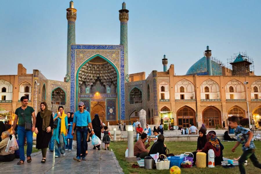 Dans la douceur d'Ispahan