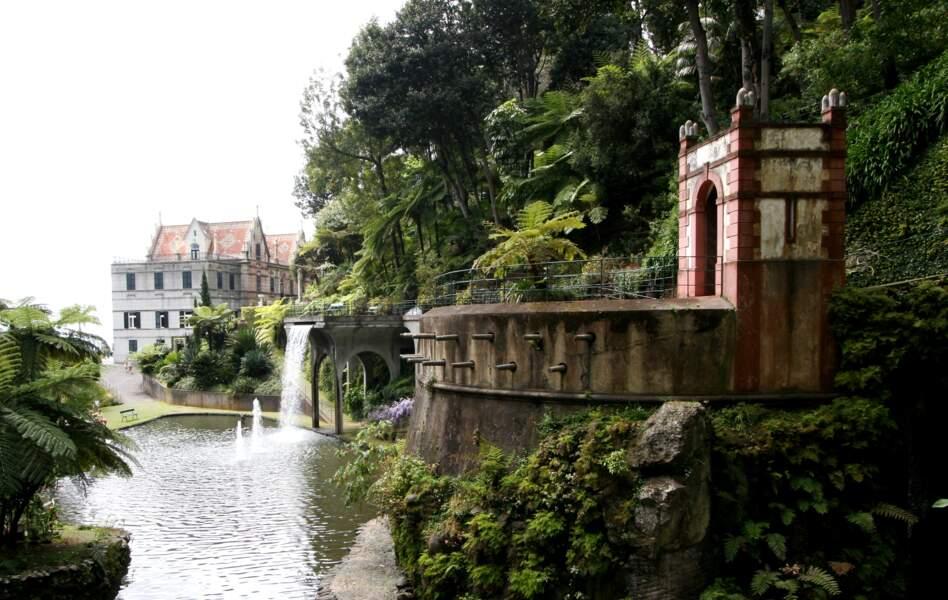 Le jardin tropical Monte Palace à Madère