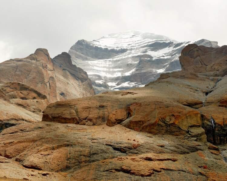 La face ouest du mont Kailash