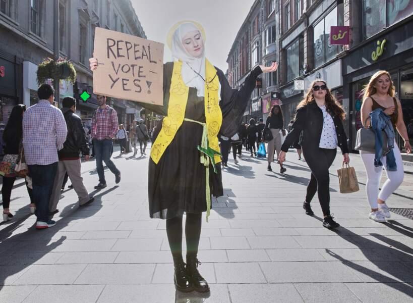 """Irlande, printemps 2018 : référendum sur la légalisation de l'avortement – 1er prix catégorie """"sujets contemporains"""""""