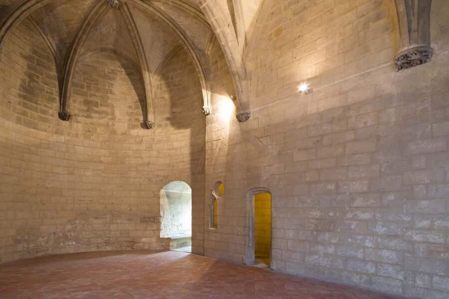 La chapelle voûtée du château