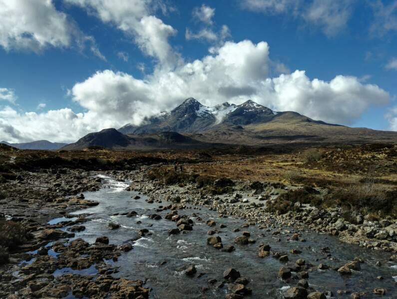 Le Cuillin, île de Skye