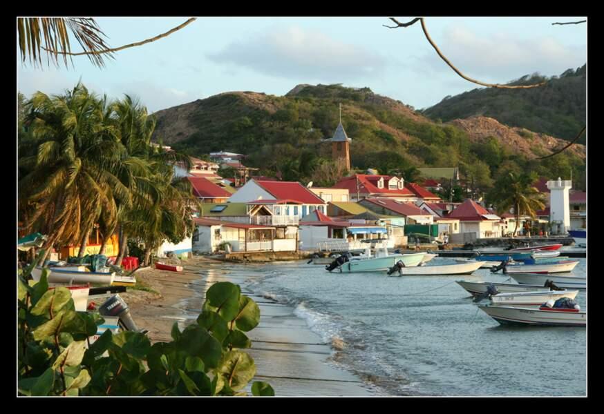 Photo prise par Chantal Follet sur les îles des Saintes