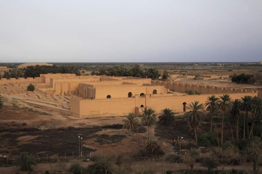 Les rénovations de Babylone pourraient faire échouer la demande de classement à l'Unesco