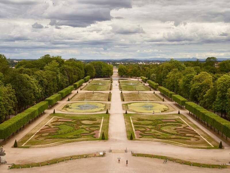 Un jardin unique dans l'est de la France