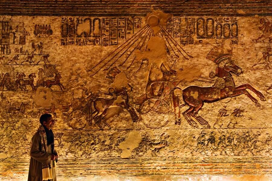 A Tell el-Amarna, le soleil d'Akhenaton, le roi monothéiste, brille encore