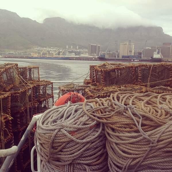 Départ du Cap, en Afrique du Sud. Tout commence ici.