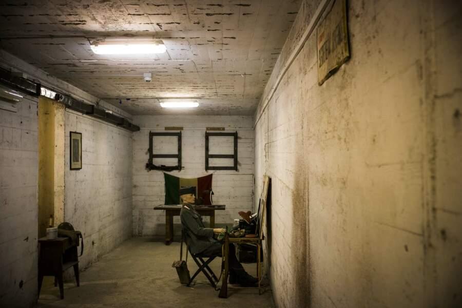 Le bunker construit pour Benito Mussolini dans le Palazzo Uffici