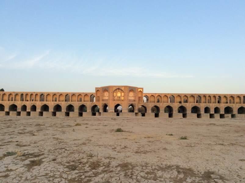 Pont Khaju, à Ispahan