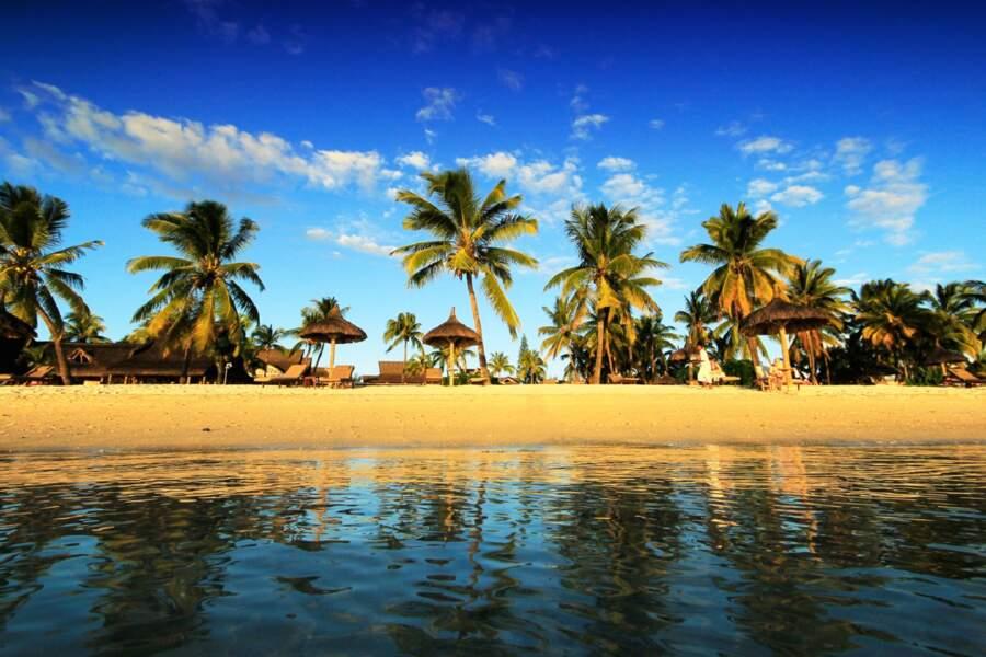 La plage Flic en Flac