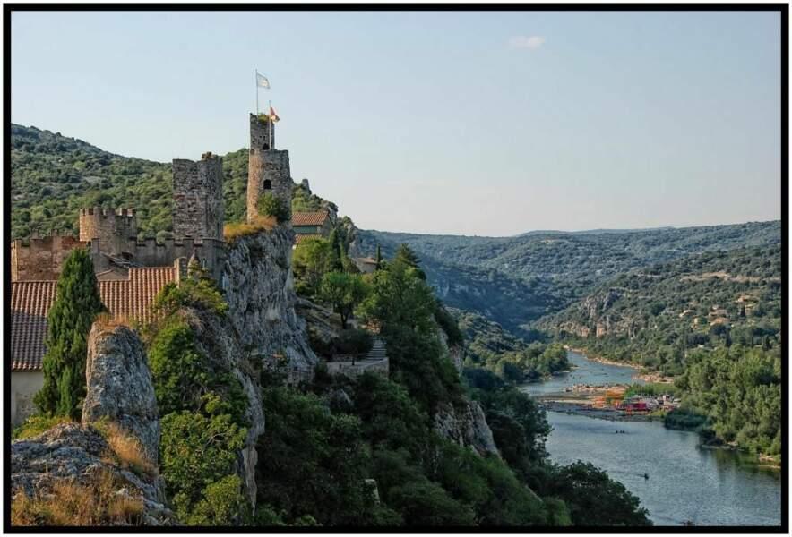 Photo prise en Ardèche par le GEOnaute rabiller