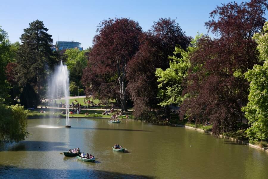 Le parc de l'Orangerie, pour une promenade bucolique