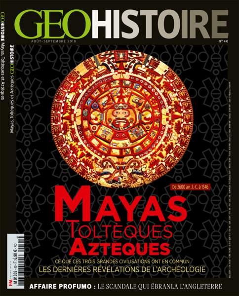 Retrouvez l'intégralité du reportage dans le magazine GEO Histoire n°40 (août - septembre 2018)