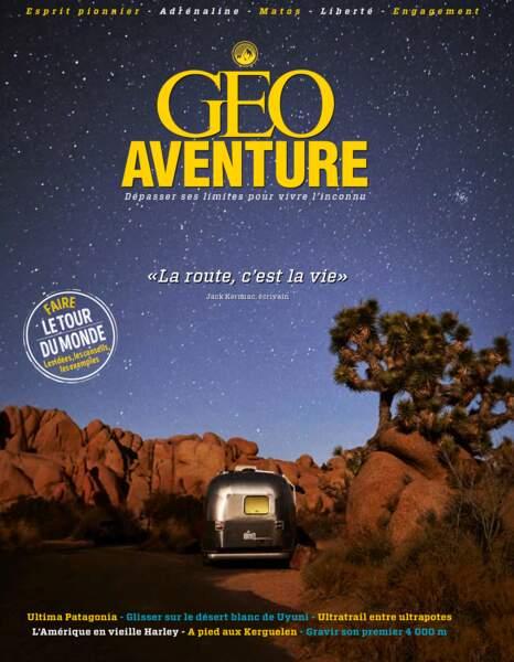 Reportage paru dans le magazine GEO Aventure n°4 (novembre - décembre 2018)