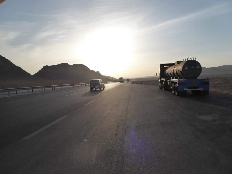Sur la route d'Ispahan
