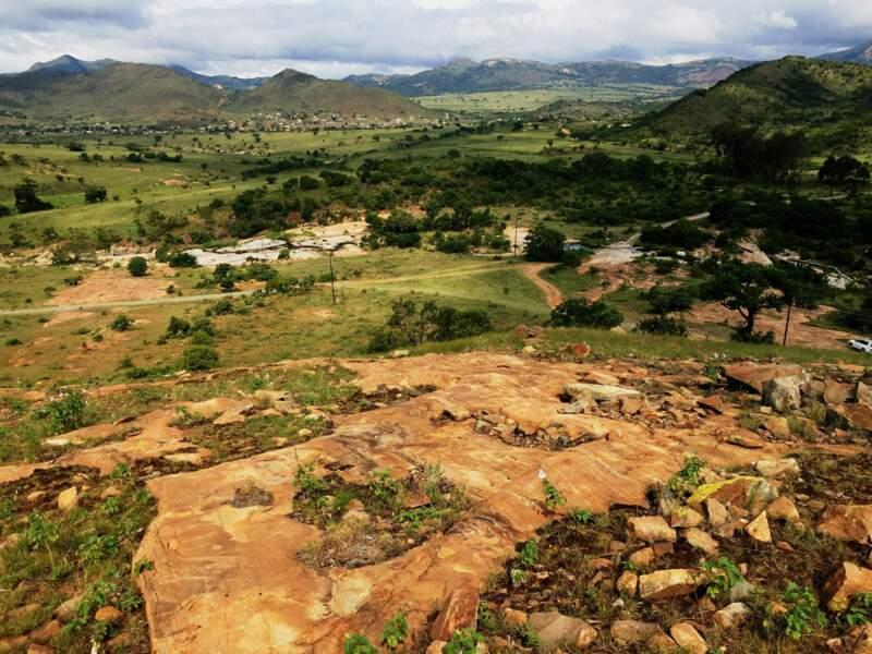 Les montagnes de Barberton Makhonjwa, en Afrique du Sud