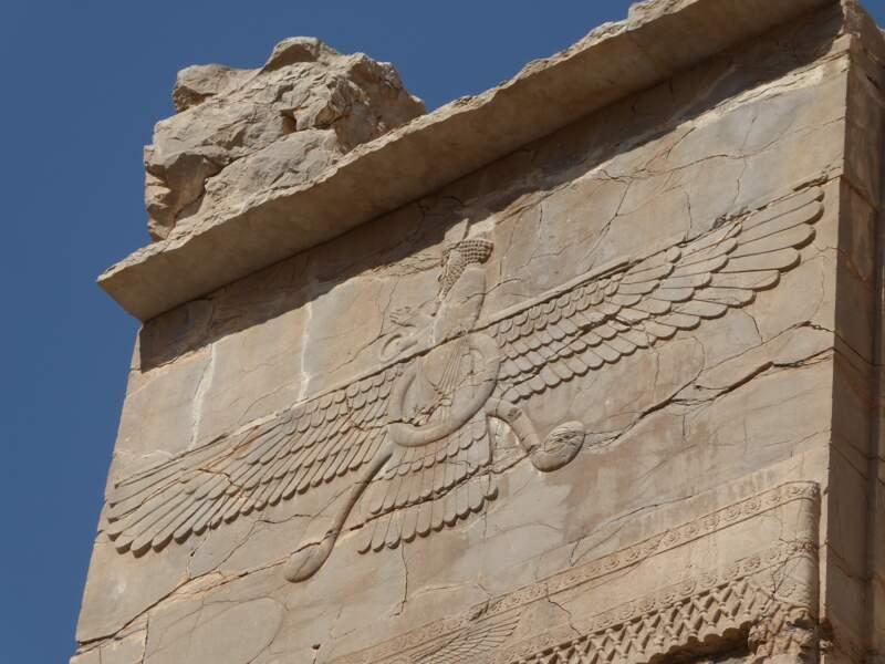 Ahura Mazda, à Persépolis