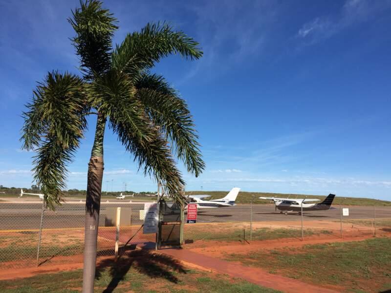 Début de l'aventure: l'aérodrome de Broome