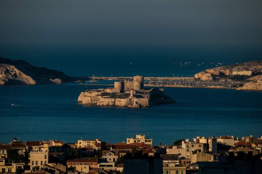 Le château d'If et les îles du Frioul