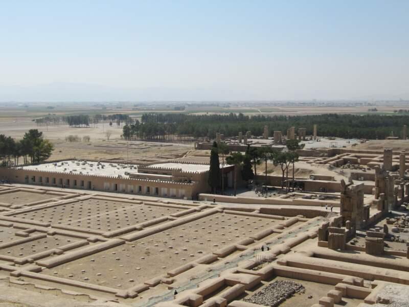 Vue sur Persépolis