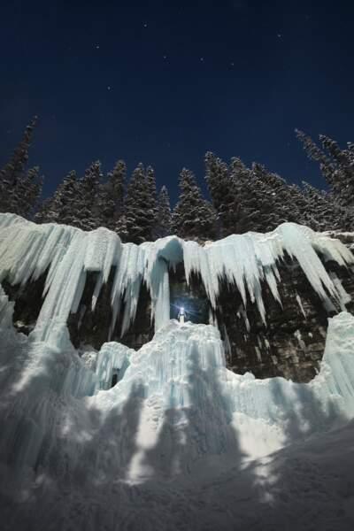 Johnston Canyon, parc national de Banff dans l'Alberta (Canada)