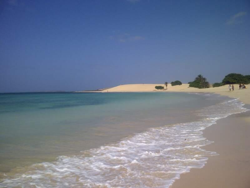 La plage de Chaves