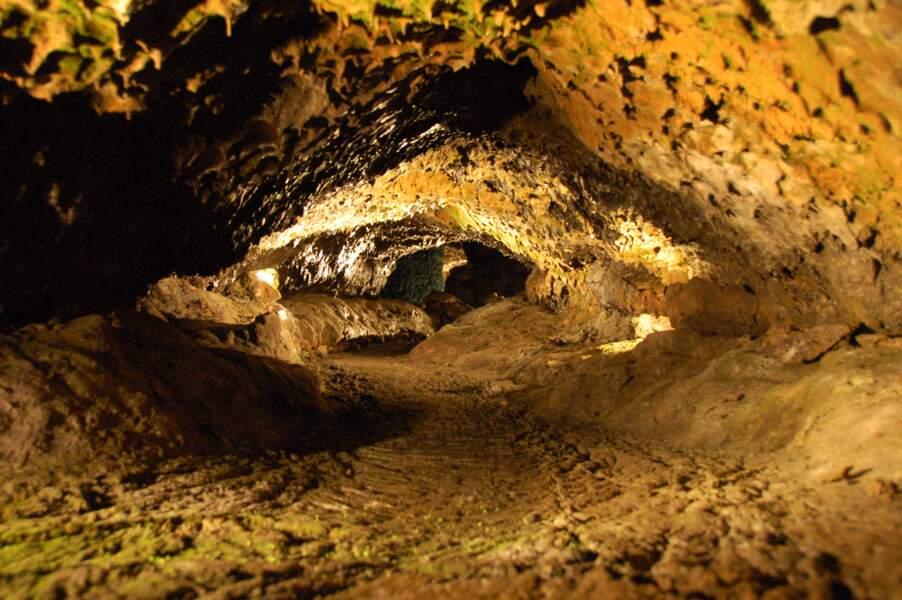 Les grottes volcaniques de São Vicente