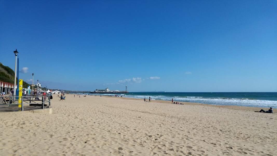 20 - Bournemouth Beach, Angleterre, Royaume-Uni