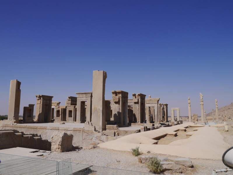 Les vestiges antiques de Persépolis