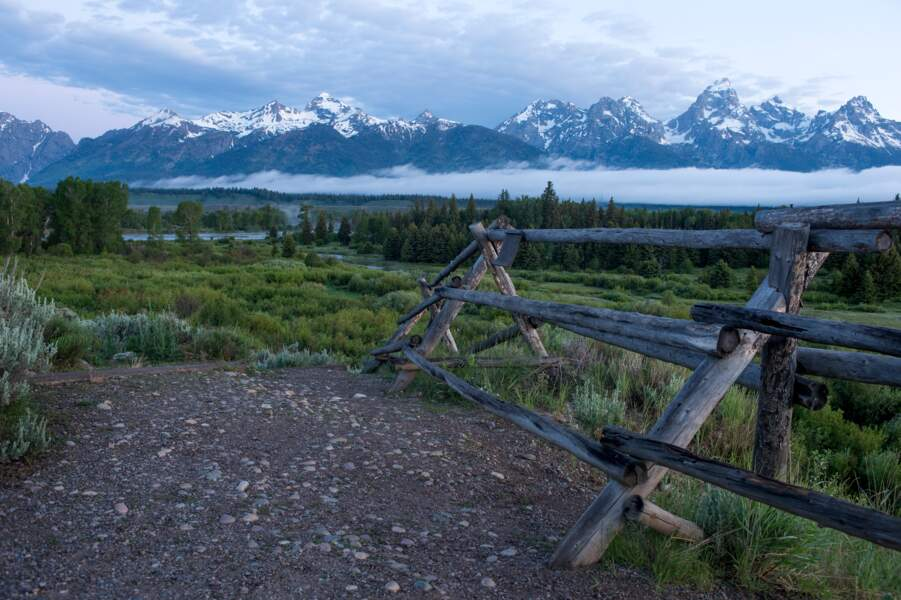Le parc national de Grand Teton