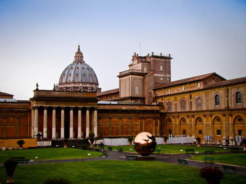 4 - Les musées du Vatican, Rome