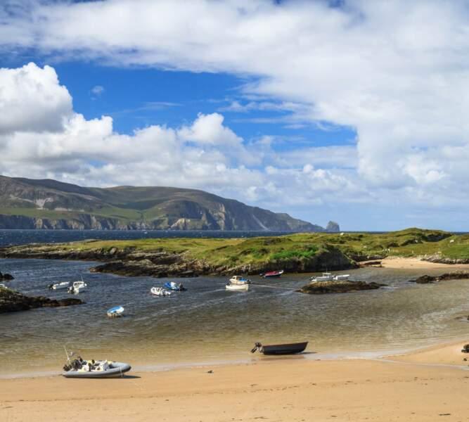 Donegal, petit port de Rossbeg