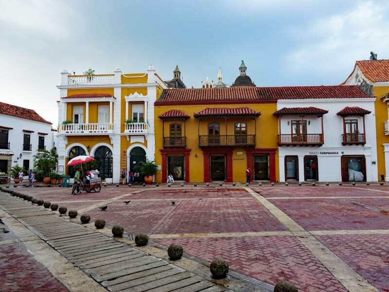 Carthagène, en Colombie