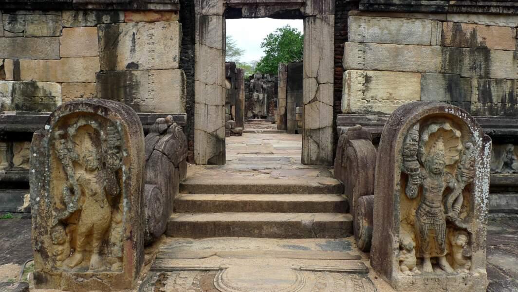 Le site étonnant de Polonnaruwa