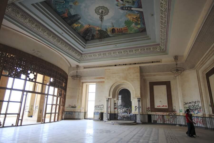 Dans le palais de Saddam, des fresques célébrant la grandeur mésopotamienne